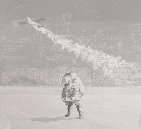 White Sands, Öl auf Leinwand 2017, 110 x 120 cm