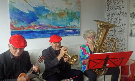 trio dello - Margie Schwenk-Osterloh, Klaus Osterloh, Heinz Kluxen Atelier Caroline Baum