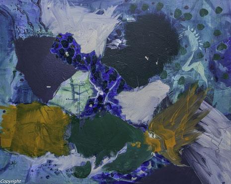Day Spirit, Acryl auf Leinwand 2015,  80 x 100 cm