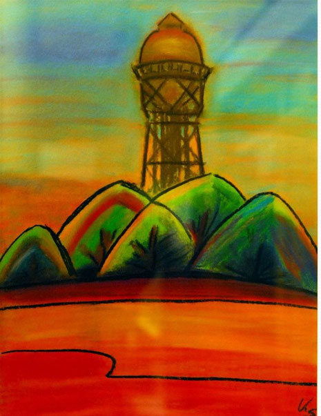 Bild mit Turm