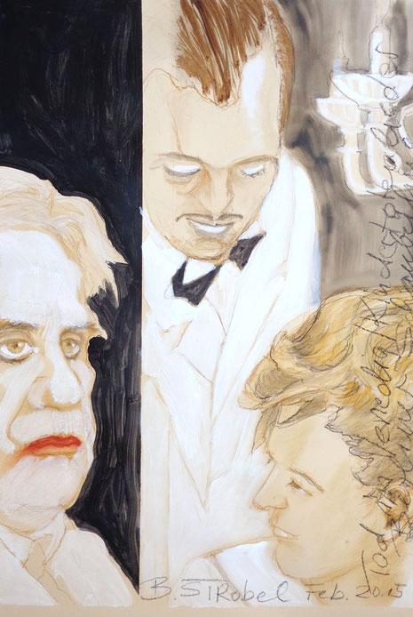 """Tod in Venedig : dieses berühmte Stück , begleitet von Mahlers """"Kindertotenliedern"""", ist hier dargestellt."""