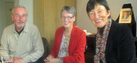 Bild:Drei Vorstandsmitglieder