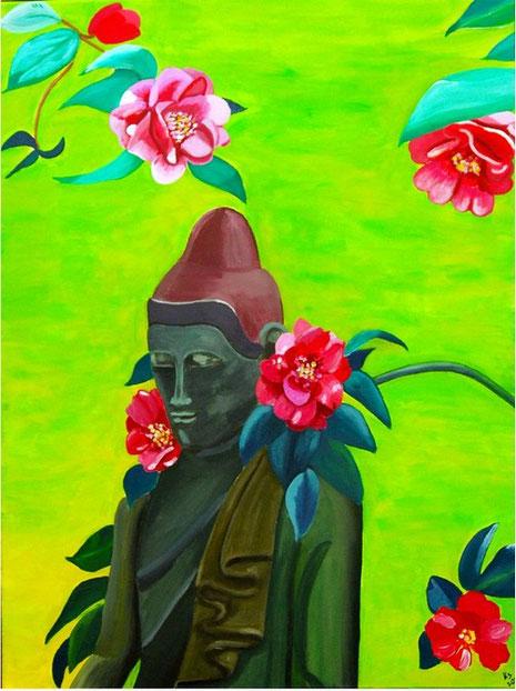Bild mit Buddha