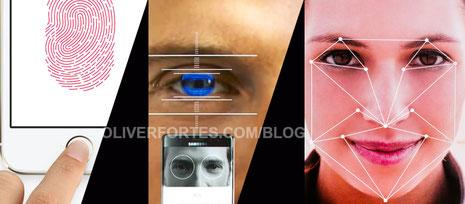Sistemas de desbloqueo biométricos en smartphones