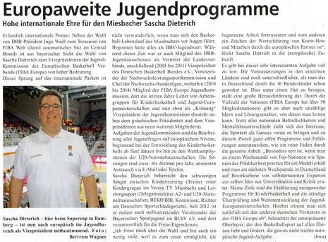 Artikel der BayernBasket 8/2014 - Zum Vergrößern Klicken