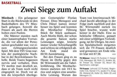 Artikel des Miesbacher Merkur am 24.1.2014 - Zum Vergrößern Klicken