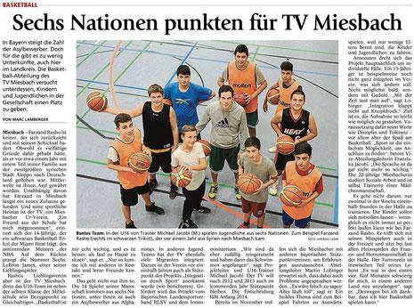 Bericht des Miesbacher Merkur am 8.10.2013
