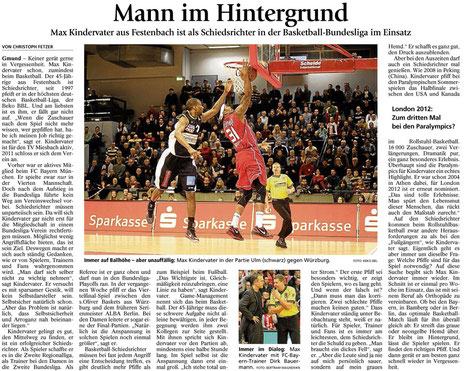 Artikel des Miesbacher Merkur am 18.5.2012 - Zum Vergrößern anklicken
