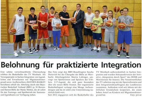 Artikel der BayernBasket 1/2014
