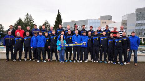 Trainingslager und Vereinsausflug vom 27.2. - 2.3.2014