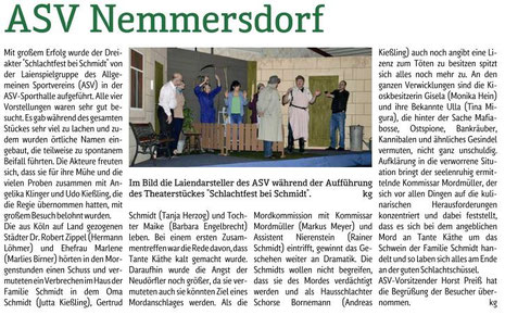 """""""Mein Verein"""" vom 4.3.2016"""