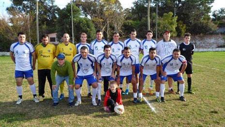 Força Jovem pentacampeão Municipal Futebol 7 Livre 2014