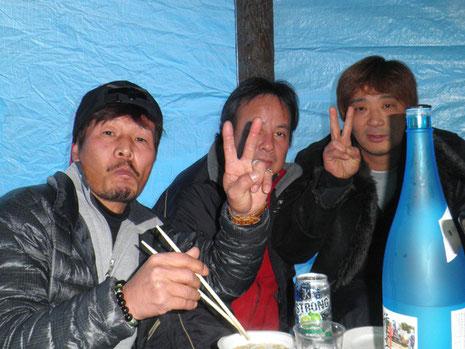 木村さんと原田さん 1年ぶりです^^