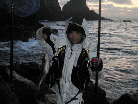 拓ちゃん、第一発目のクロ