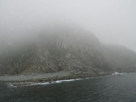 30分後には、霧深く