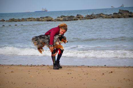 road trip ecosse, roadtrip scotland, highlands, chien, vacances, voyager avec son chien, randonnée, hiking dog, plage, see, mer du nord,