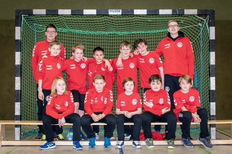 männl. D-Jugend - Saison 2018/19