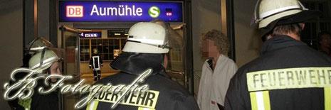 26.08.2012 - SH/Aumühle (Kreis Hzgt. Lauenburg): Regionalexpress evakuiert