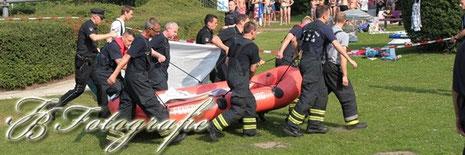 27.07.2012 - HH/Farmsen: Tödlicher Badeunfall im Strandbad Farmsen