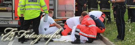 09.08.2012 - HH/Tatenberg: LKW erfasst Radfahrer