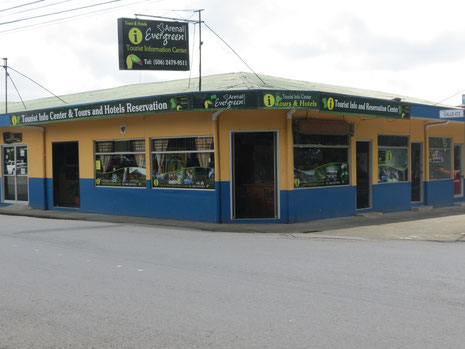Arenal Evergreen main office in La Fortuna