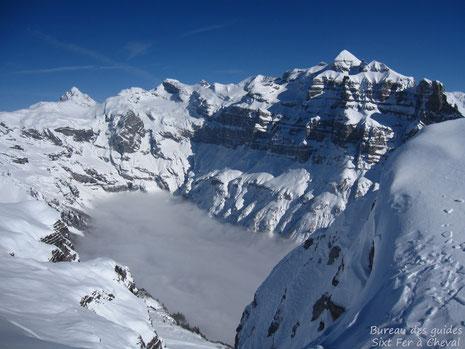 La vue du sommet, toujours aussi grandiose ...