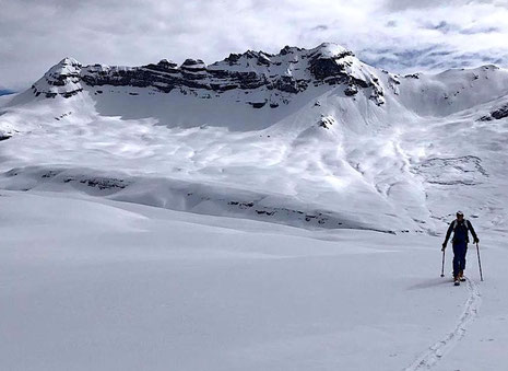 Rêve de poudreuse - on s'y croit déjà! Powder - a dream comes through! Photo C.Ducroz