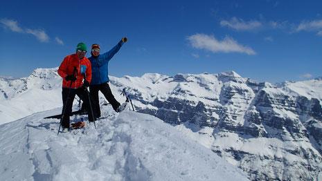 Summit ! Juliette et Gilles au top de La Pointe Rousse des Chambres