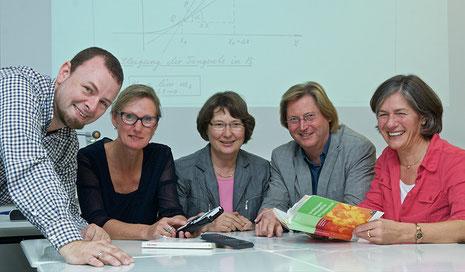 v.l. Arne Schmidt, Gabi Hanfeld, Antonia Holt, Wilhelm Degener, Dr. Ursula Budde-Wamhof