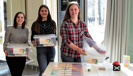 "Das Kartenspiel ""Reflex"". Foto: Caritas / Frauke Damerow"