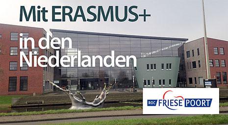 Die Niederländische Partnerschule ROC Friesepoort.  Das ROC Friesepoort ist ein auf vier Standorte verteiltes Schulsystem mit ca. 10000 Schülerinnen und Schülern.  Die Schule ist auf die Standorte Leuwarden, Sneek, Emmelord und Drachten verteilt.