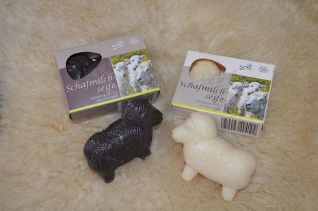 Schafmilchseife ist auch bei uns erhältlich!