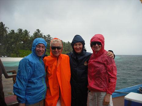 Vielen Dank an unsere lieben Gäste Carina und Dirk für das Foto. Aufgenommen letzte Woche bei Abfahrt zum Walhai-Trip.