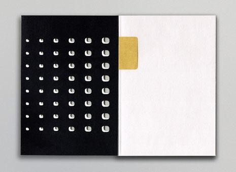 reliure souple papier découpés 2015 book design paper bookbinding