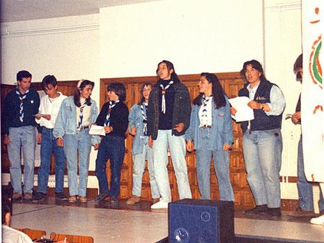 Festival scout. Rangers de 1992