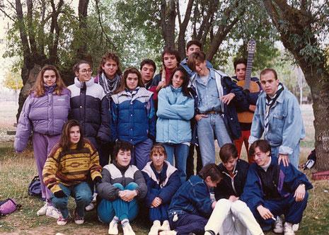 Los pioneros en el Soto. 1991