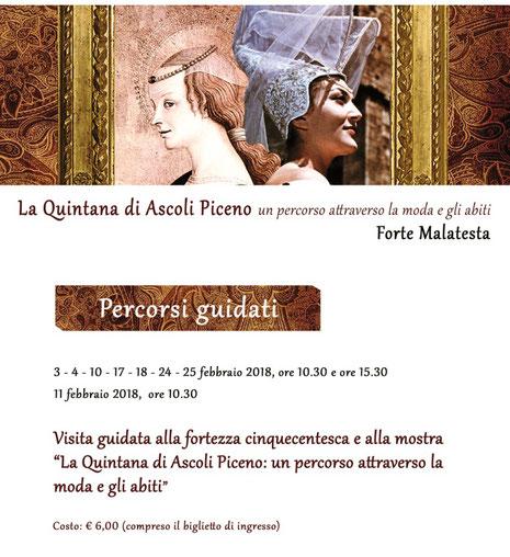 Visita guidata al Forte Malatesta di Ascoli Piceno
