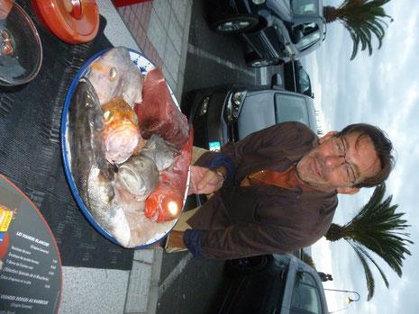 On choisit son poisson chez Laurent