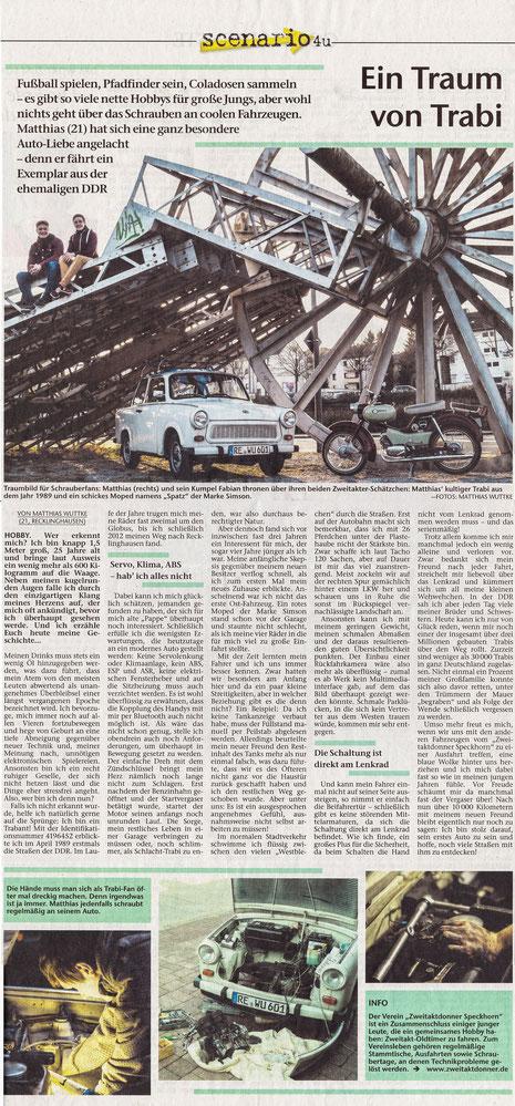 Recklinghäuser Zeitung, Artikel S.52, 18.04.2015
