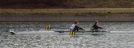 Simon BONNE et Guillaume VERCELONNE terminent 2ème