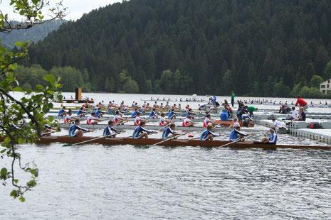Départ course championnats de France UNSS-FFSU Gérardmer 2009