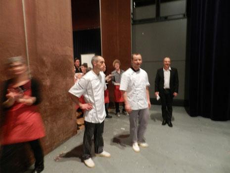 SACHOT Jean-Marc et LAROCHE Alexis, les cuistos