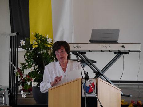 Tamara Leis zu Entstehungsgeschichte der Orts-und Kreisgruppe Landshut