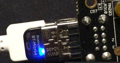 Bluetooth 自身は起動できて、ペアリング、コネクトまではOK。でも肝心の音が出ない・・・