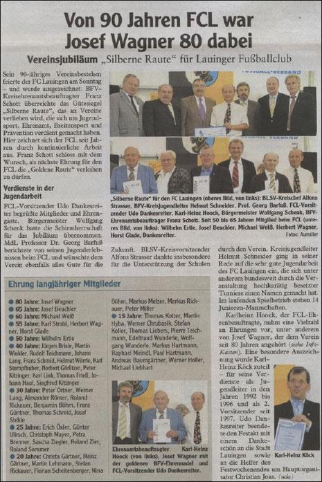 Quelle: Donau Zeitung vom 28.07.2010 - Zur Vergrößerung klicken Sie bitte auf den Artikel !