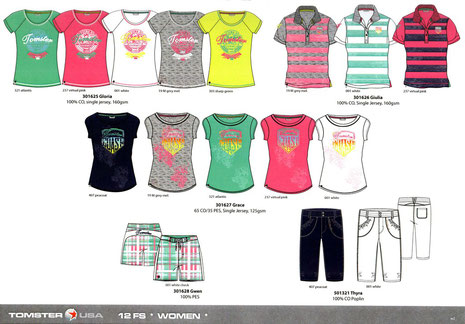 TOMSTER USA women casual