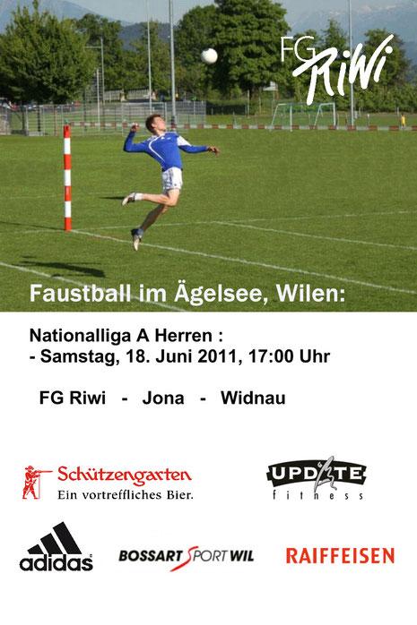 Flyer - NLA Faustball Herren