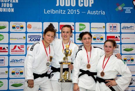 Selina Dietzer gewinnt das Europapokal in Österreich