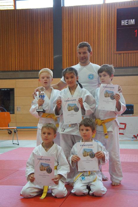 JSC Heidelberg U10 Team