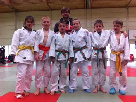 Dirk Lehmann mit JSC u12 Team